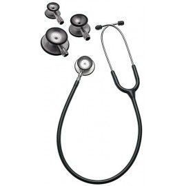 Estetoscopio tristar® con tres cabezas dobles de aluminio, gris pizarra, en caja expositora de cartón