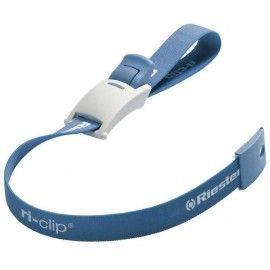 ri-clip®, azul, cinta con látex, en bolsa de PE