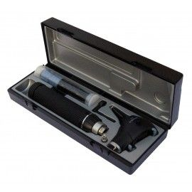 ri-scope® L Otoscopio L3 LED 2,5 V, Mango C para 2 Baterias alcalinas Tipo C o ri-accu®